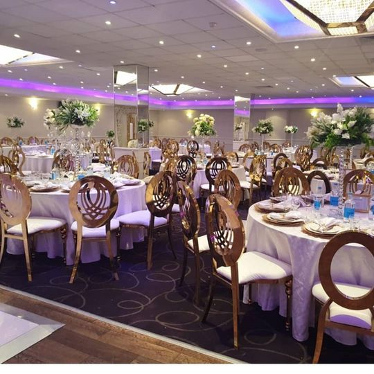 Infinity and dior chairs for hire