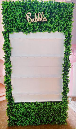Prosecco wall