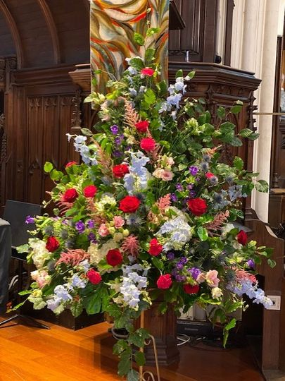 Church pedestal display