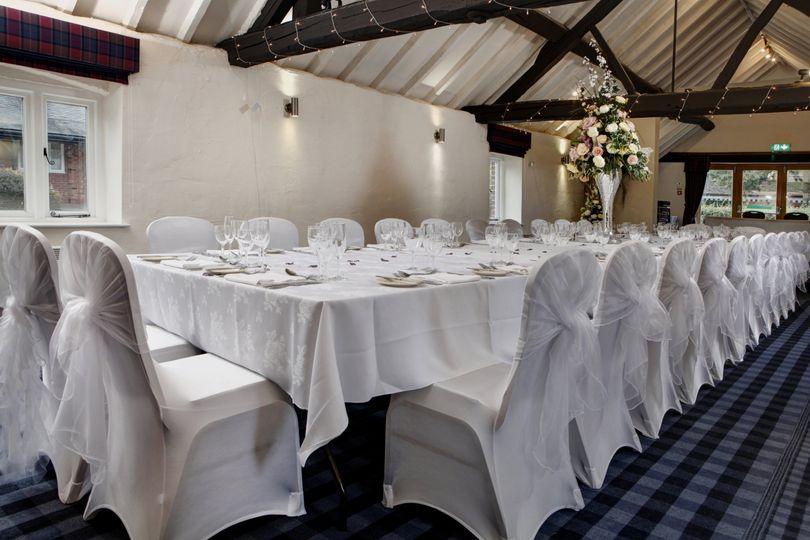 Chapel Suite Wedding Breakfast