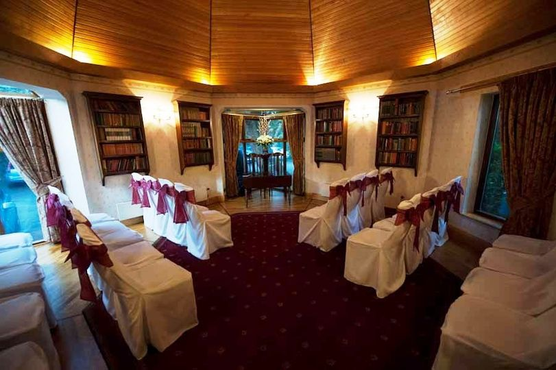 Library for smaller weddings