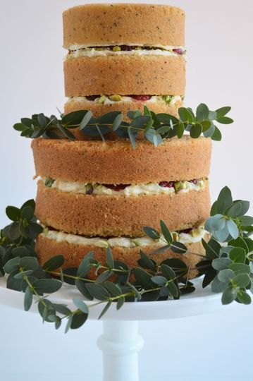 Naked Cake close up