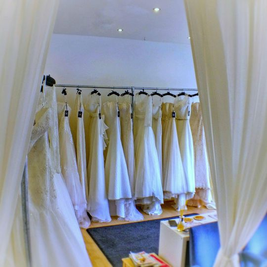 Wedding dresses galore!