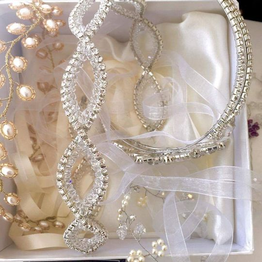 Bridal accessories available!