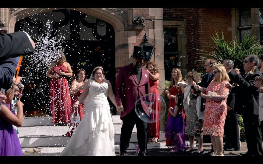 Joy for the happy couple - Yellow Glove Productions