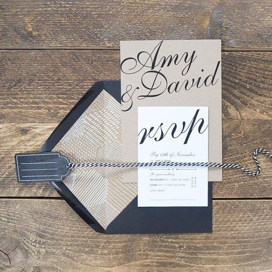 Stationery Bonny and Clyde Wedding Boutique 24