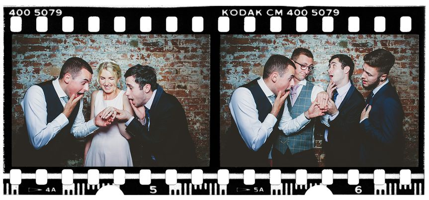 Vintage Photo Booth the boys