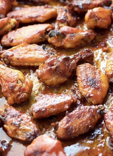 Homemade Peri-Peri wings