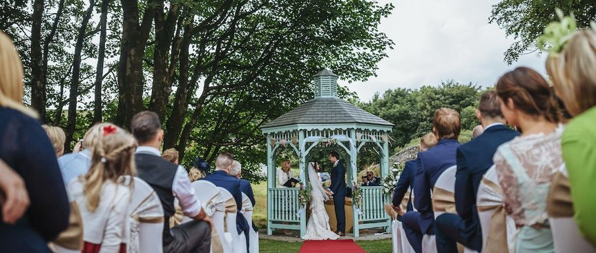 The beautiful pagoda wedding of Katie and Dan. Photography by Paul Marlbrook