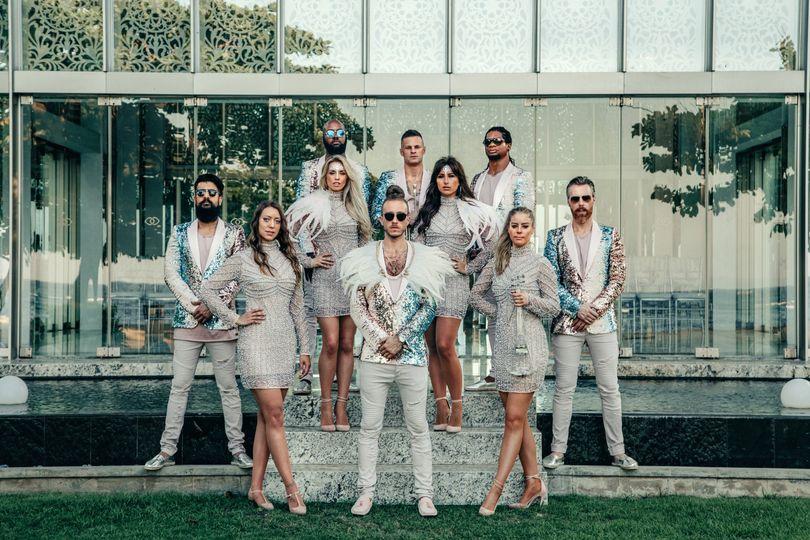 Stylish wedding band