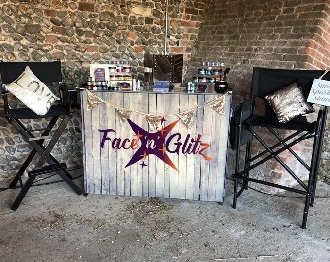 Rustic Glitter Bar
