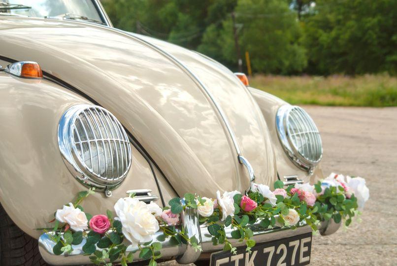 Vintage VW Wedding Beetle