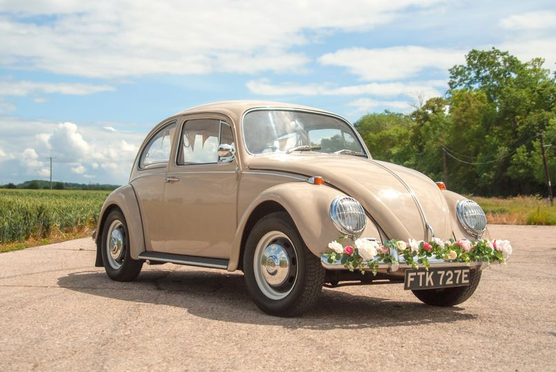 Vintage VW Wedding Beetle