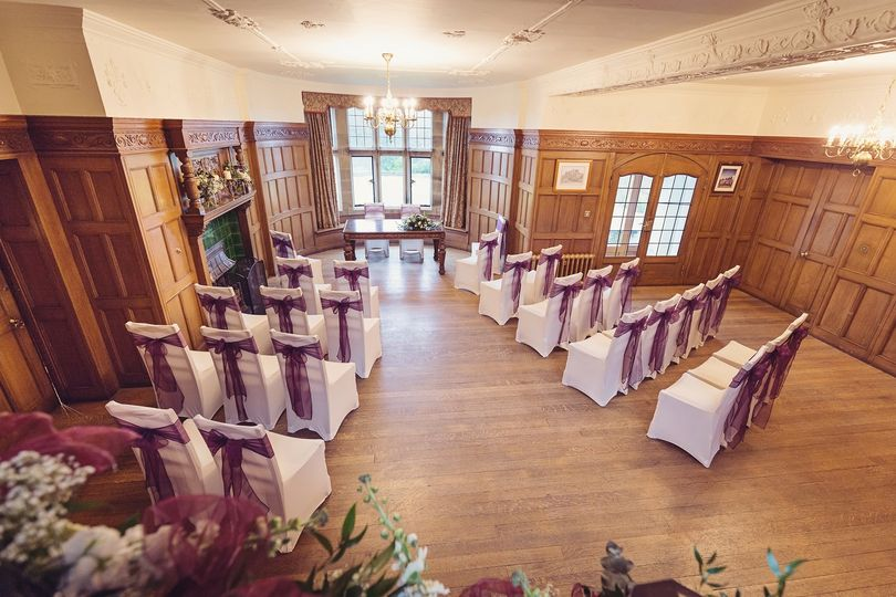 Old Hall Ceremony layout