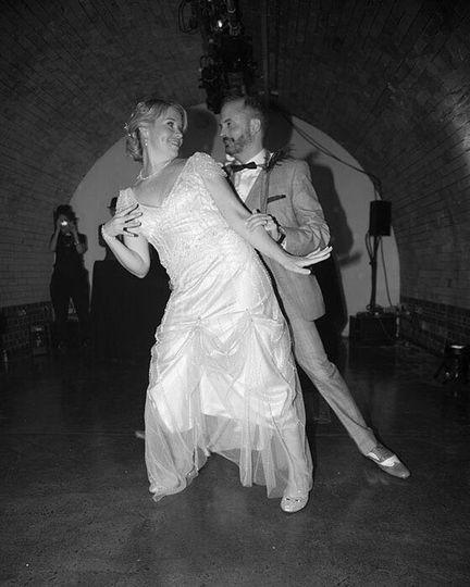 Wedding dance that wows