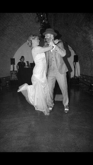 Classic dance routine