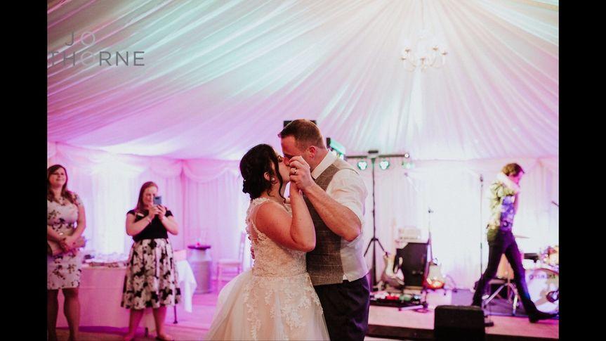 Romantic wedding waltz