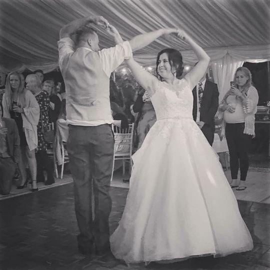 Confident dance moves
