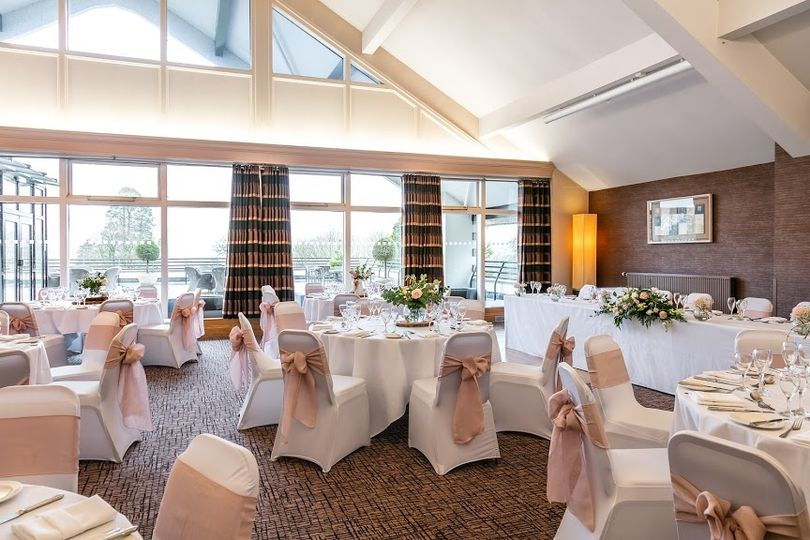 Pink wedding theme in our Kendal Suite