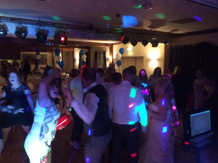 July 2016 wedding disco