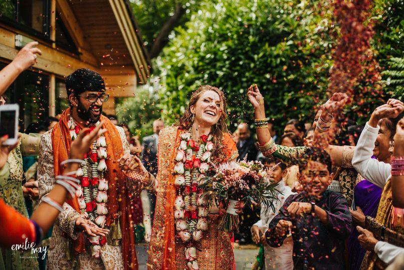 Hindu wedding Styal Lodge