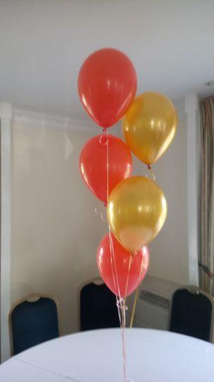 5 Balloon Table Decoration
