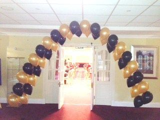 Double String of Pearls Arch