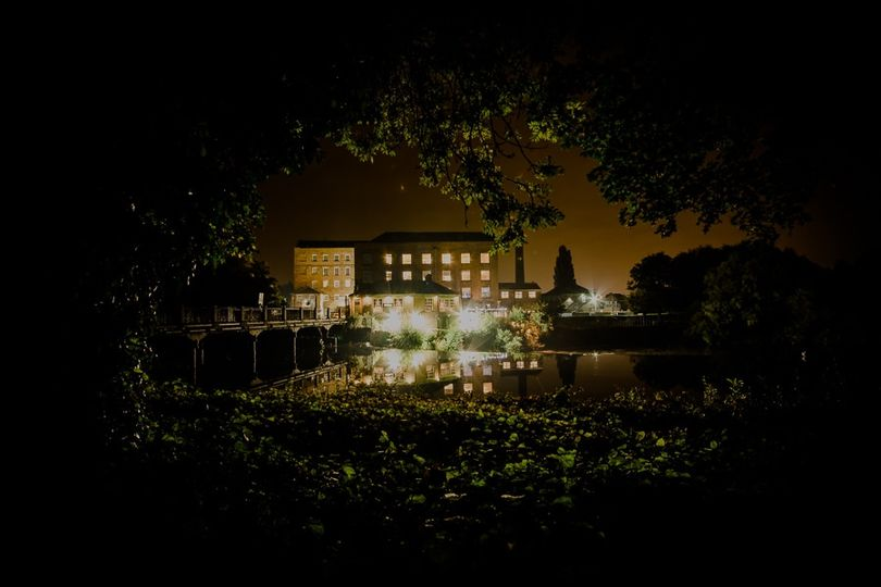 The West Mill - at night