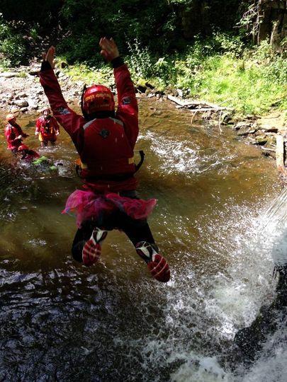 Jumping into the fun