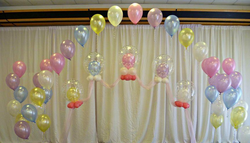 Double Bubble Wedding Arch.