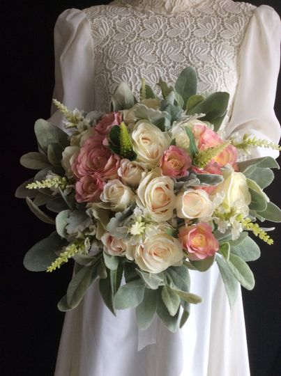 Natural Silk Flower Bouquet