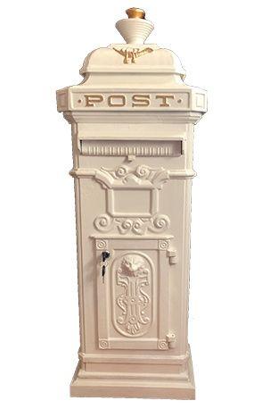 Lockable Victorian postbox
