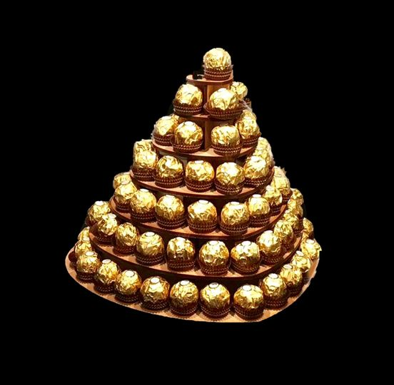 FR Chocolate Pyramid Heart