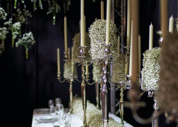 Exquisite candelabras