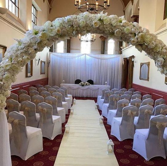 Elegant wedding celebration