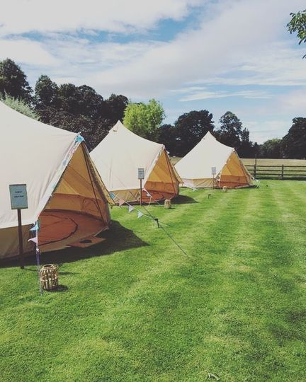 Glamping villages for special events