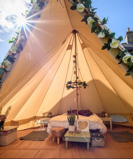 Marquee & Tipi Hire Bellissimo Bell Tent Hire  3