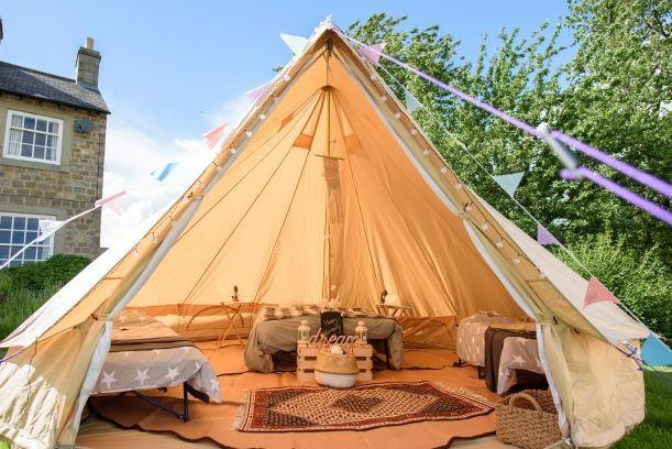 Marquee & Tipi Hire Bellissimo Bell Tent Hire  5