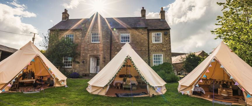 Marquee & Tipi Hire Bellissimo Bell Tent Hire  6