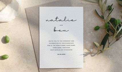 Wonder Wedding Stationery 1