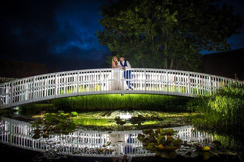 Night Shot of Bridge