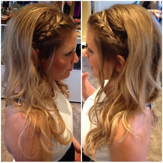 Wedding guest with extensions
