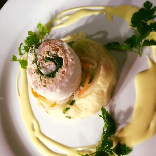 Roulade of Lemon Sole