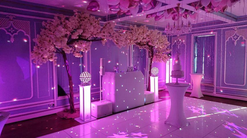 Blossom Tree Arch & LED Floor