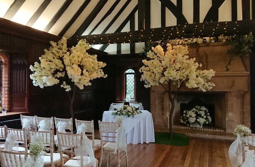 Ceremony Blossom Trees