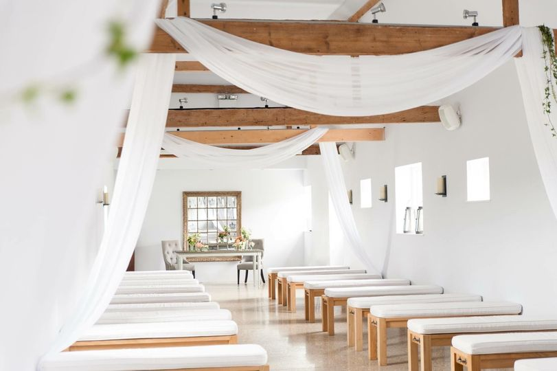 The Dairy Barn for civil ceremonies