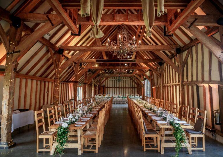 200-year old barn lovingly restored