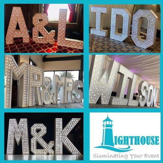 5ft Light up letters
