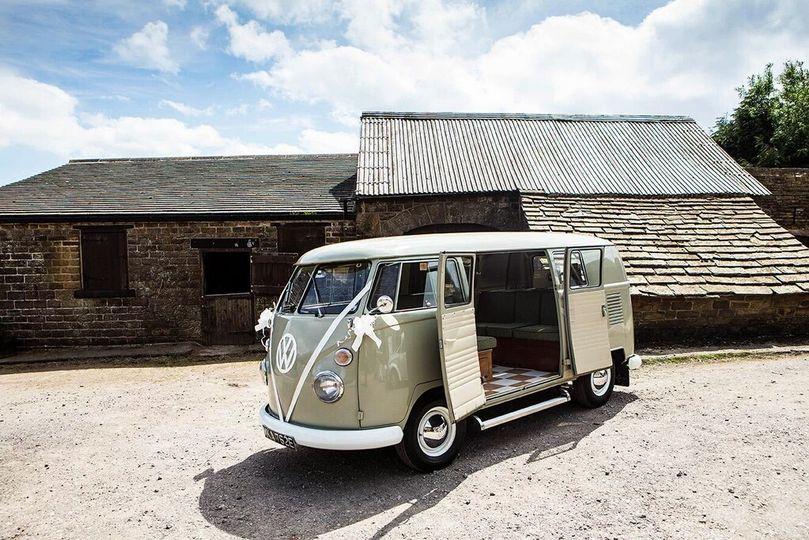 Vintage VolksWeddings Camper