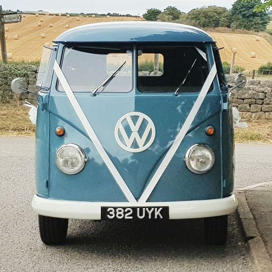 Vintage VolksWeddings' 61' VW